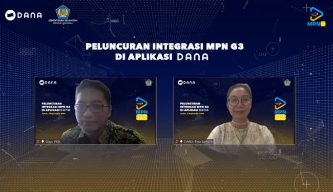 Dompet Digital DANA  Kini Jadi Lembaga Persepsi Lainnya, Ditunjuk Sebagai Agent MPN G3